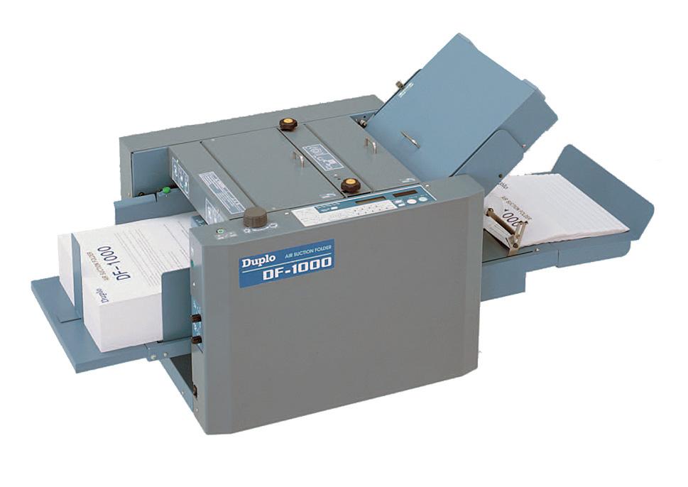 brochure folder machine