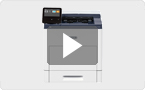 Outil de découverte de produits — Xerox Versant B605/B615