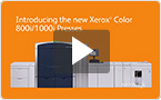 The Xerox Color 800i and 1000i Presses offer print providers a competitive advantage through the ability to enhance printed output with true Pantone metallic gold or silver inks. Other features that come standard include: Full Width Array, Auto Sheet Clearing, HyperRIP from Fiery, and more.