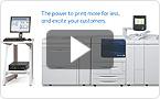 Interactive product demo: experience the Xerox D95A/D110/D125 at your pace.