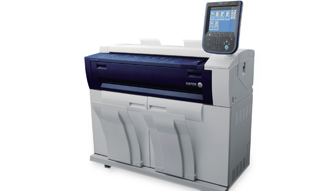 Xerox 6705 Wide Format System for Large Format Printing