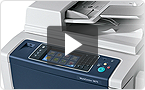 Interactive product demo: experience the Série WorkCentre 5800i at your pace.
