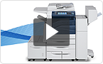 Interactive product demo: experience the Série WorkCentre 7800i at your pace.
