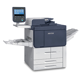 A photo of Xerox<sup>®</sup> PrimeLink<sup>®</sup> B9100 Series