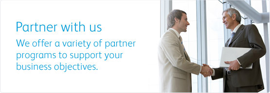 Partner with us. We offer a variety of partner programs to support your business objectives.