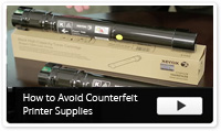 How to Avoid Counterfeit Printer Supplies Video