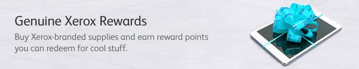 Genuine Xerox Rewards — программа вознаграждения за использование подлинной продукции Xerox