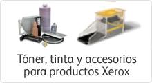 Consumibles para impresora Xerox