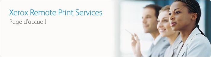 Gestion d'Impression - le Logiciel Remote Services de Xerox