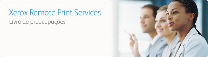 Remote Services: Assistente de Contador Xerox para Serviços Web