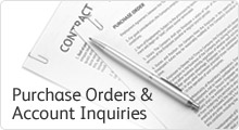 Purchase Orders, Account Inquiries & Contract Information
