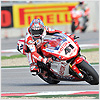 ...he continued overtaking the other riders, eventually finishing in 2nd position behind Carlos Checa.
