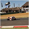 Lap times inevitably began to increase during the final stages of the 24-lap race...