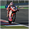 A fairly competent race for Haga, whilst not quite able to match the pace of the top riders, he completed Race 1 in 7th position.