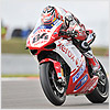 ...although things did not go as well for him this time, finishing the superpole in 9th position.