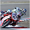 The second race was much better for Haga, where a great start put him into 2nd place after the very first corner,...