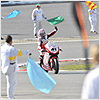 A fantastic ride from Nori Haga gave him his 43rd win of his professional Superbike career.