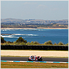 Race 2 begins, with high hopes for the Ducati Xerox Team