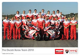 Ducati Xerox World Superbike Team 2010