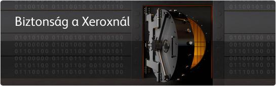 Biztonság a Xeroxnál