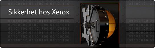 Sikkerhet hos Xerox