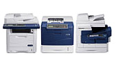 Selection of Xerox printers