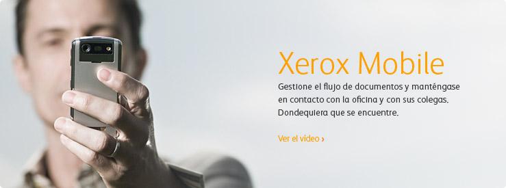 Soluciones de Xerox Mobile