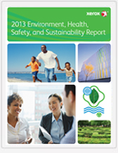 2013 Environment Health Safety and Sustainability Report