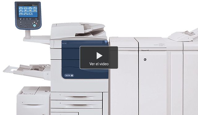550/560 a color de Xerox 550 560 video 640x374 es-ar