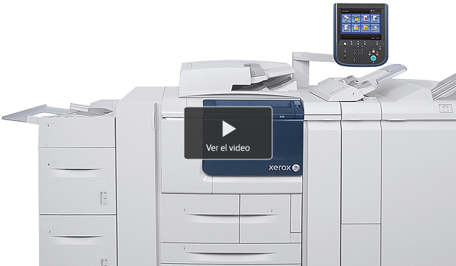 Xerox D95/D110/D125 D95 D110 D125 video 640x374 es-ar