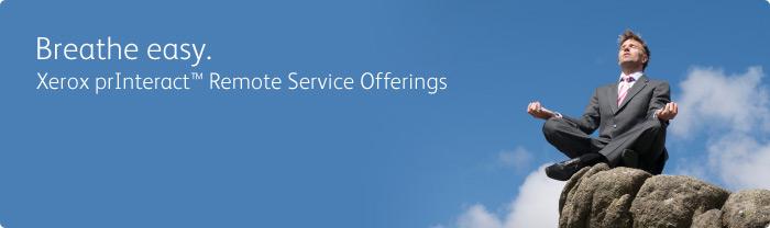Xerox prInteract Remove Services Options - Breathe easy