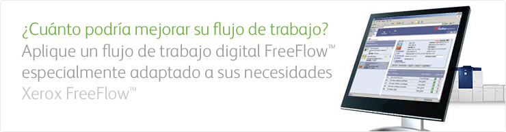Soluciones FreeFlow para la impresión digital