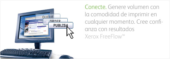 Solución Web to Print FreeFlow