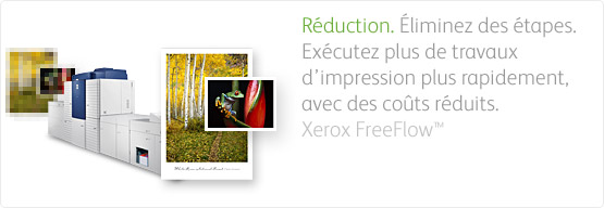Solutions FreeFlow pour la gestion de l'impression