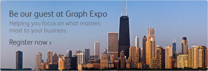 Register for Xerox Graph Expo 2012