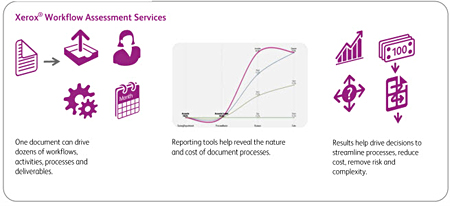 Xerox Workflow Assessment Services infographic