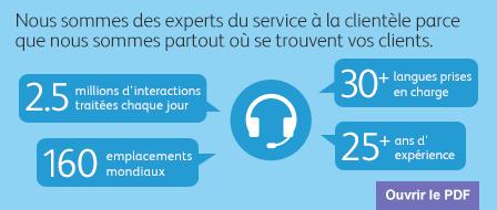 Vue d'ensemble de l'externalisation du service clients