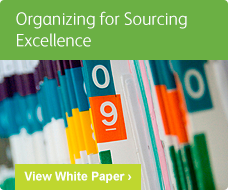 Organizing for Sourcing Excellence