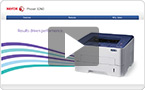 Interactive product demo : experience the Phaser 3260 at your pace.