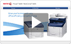 Interactive product demo : experience the WorkCentre 6605 at your pace.