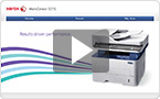 Interactive product demo : experience the WorkCentre 3215 at your pace.