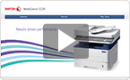 Interactive product demo: experience the WorkCentre 3225 at your pace.