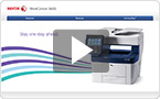 Interactive product demo : experience the WorkCentre 3655i at your pace.
