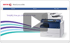 Interactive product demo : experience the WorkCentre 4265 at your pace.