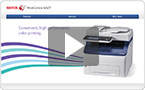 Interactive product demo : experience the WorkCentre 6025 at your pace.