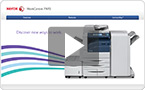 Interactive product demo : experience the WorkCentre 7970i at your pace.