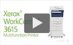 The WorkCentre 3615 brings value-packed productivity to your office; Count On It!