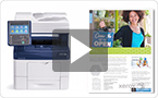 Check out our overview of the Xerox WorkCentre 6655 Colour Multifunction Printer with Xerox® ConnectKey® Technology.