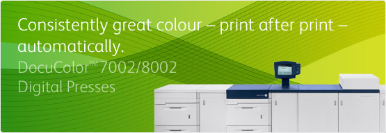 DocuColor™ 7002/8002 Digital Presses