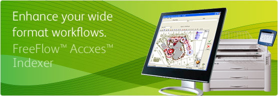 FreeFlow Accxes Indexer - Enhance your wide format workflows.